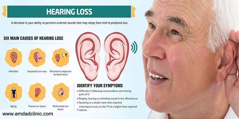 دلایل کاهش شنوایی سالمندان