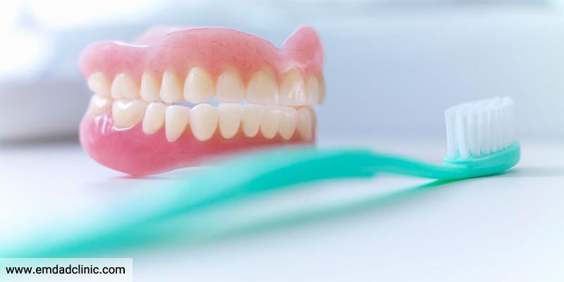 نکات مهم در نگهداری واستفاده از دندان مصنوعی