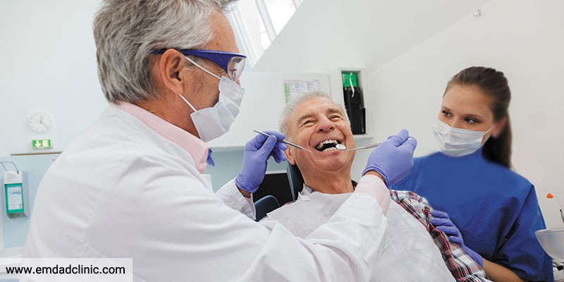 مشکلات شایع دهان ودندان در سالمندان