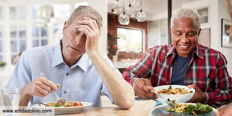 علل بی اشتهایی در سالمندان و درمان آن