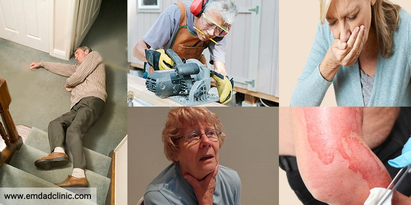 حوادث شایع دوران سالمندی و راه های پیشگیری از آنها
