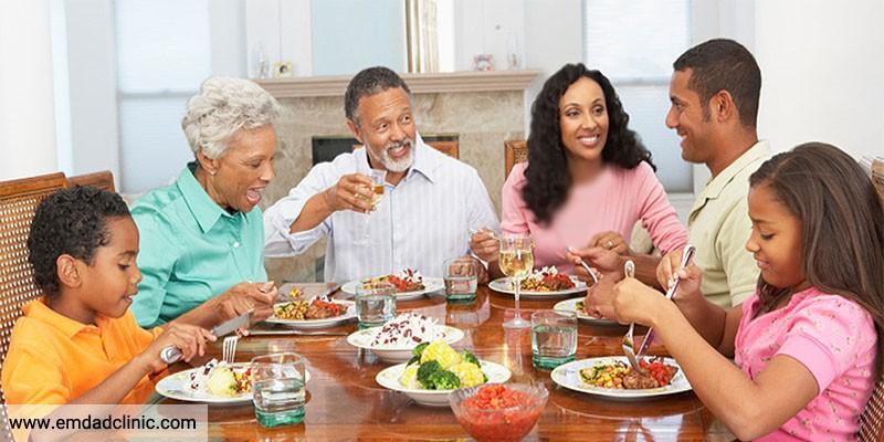 اهمیت تغذیه در سالمندان ودلایل ایجادمشکلات تغذیه ای در آن ها