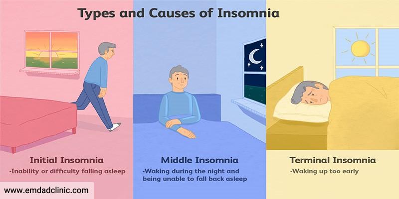 خواب سالمندان و بررسی انواع بد خوابی