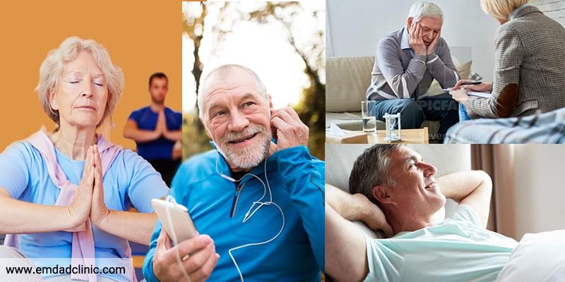 استرس در سالمندان وراه های مقابله با آن