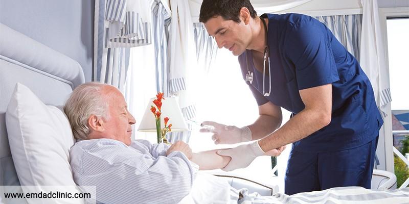 مراقبت تسکینی بیمار در منزل