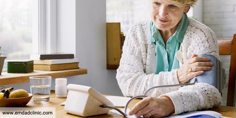 فشارخون بالا در سالمندان