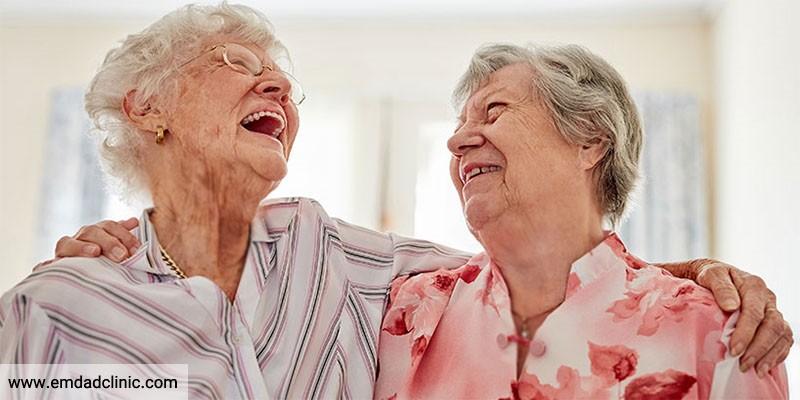 نقش مثبت اندیشی بر سلامت روان سالمندی