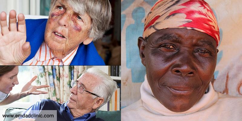نه به خشونت علیه سالمندان!