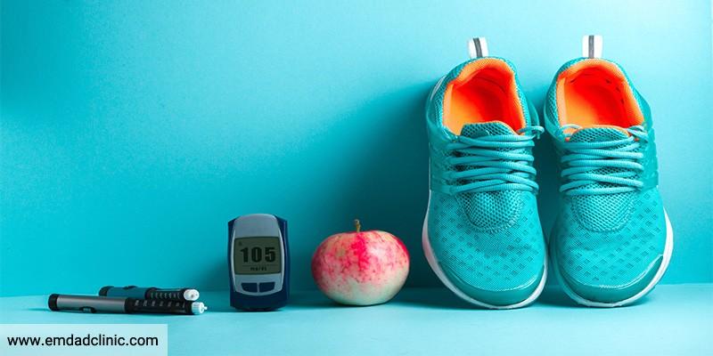 نکات مربوط به اصلاح شیوه زندگی در سالمند دیابتی