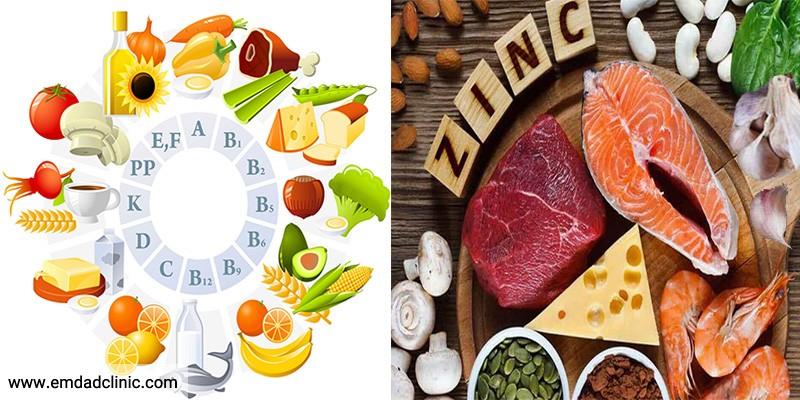 ویتامین و موادمعدنی مورد نیاز در سلامت سالمندان