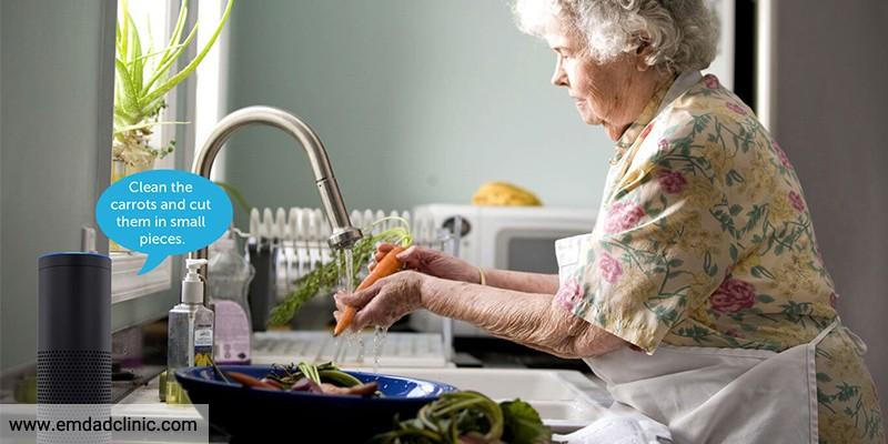 ارتقا ایمنی منازل در بیماران مبتلا به آلزایمر
