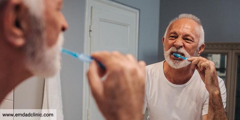 دلایل اهمیت بهداشت دهان در سالمندان