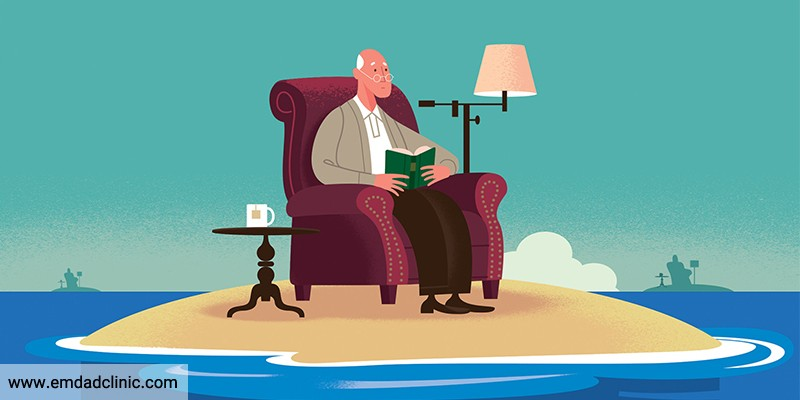 سالمندان با احساس تنهایی خود چه می کنند؟