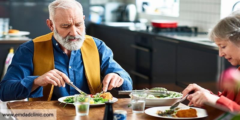 تغذیه در بیمار مبتلا به آلزایمر