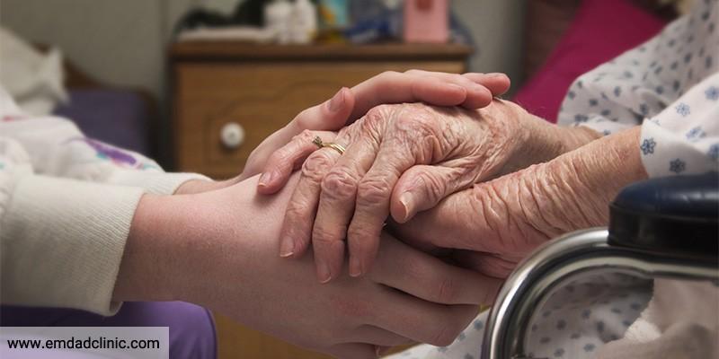 مرکز درمان در منزل سالمندی