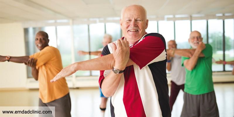 پیشگیری از تحلیل بافت عضلانی در سالمندان